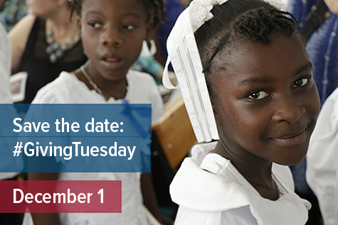 GivingTuesday--save the date