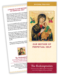 Our Mother of Perpetual Help Novena Pamphlet