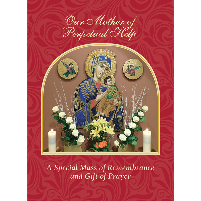 The Redemptorists » Our Mother Of Perpetual Help Mass Card